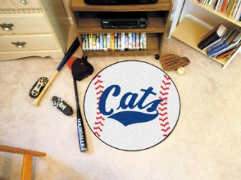Montana State University Ball Shaped Area Rugs (Ball Shaped Area Rugs: Baseball)