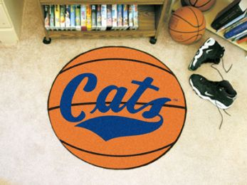 Montana State University Ball Shaped Area Rugs (Ball Shaped Area Rugs: Basketball)