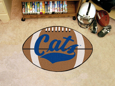 Montana State University Ball Shaped Area Rugs (Ball Shaped Area Rugs: Football)