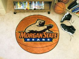 Morgan State University Ball Shaped Area Rugs (Ball Shaped Area Rugs: Basketball)