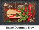 Indoor & Outdoor Mountain Cabin Sled MatMates Doormat
