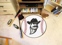 New Mexico State University Ball Shaped Area Rugs (Ball Shaped Area Rugs: Baseball)