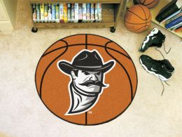 New Mexico State University Ball Shaped Area Rugs (Ball Shaped Area Rugs: Basketball)