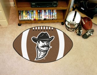 New Mexico State University Ball Shaped Area Rugs (Ball Shaped Area Rugs: Football)