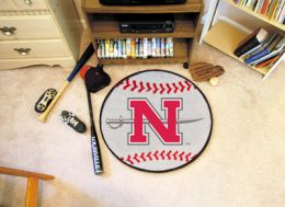 Nicholls State University Ball Shaped Area Rugs (Ball Shaped Area Rugs: Baseball)