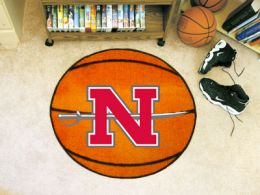 Nicholls State University Ball Shaped Area Rugs (Ball Shaped Area Rugs: Basketball)