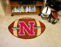 Nicholls State University Ball Shaped Area Rugs (Ball Shaped Area Rugs: Football)