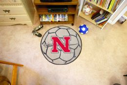 Nicholls State University Ball Shaped Area Rugs (Ball Shaped Area Rugs: Soccer Ball)