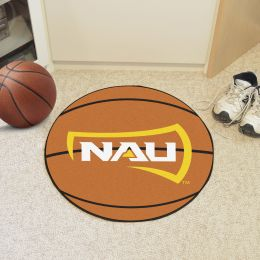 Northern Arizona University Ball Shaped Area Rugs (Ball Shaped Area Rugs: Basketball)