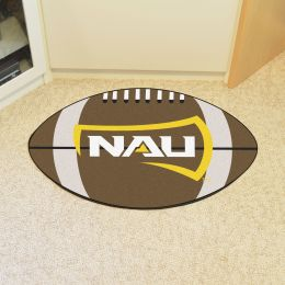 Northern Arizona University Ball Shaped Area Rugs (Ball Shaped Area Rugs: Football)