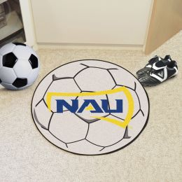 Northern Arizona University Ball Shaped Area Rugs (Ball Shaped Area Rugs: Soccer Ball)