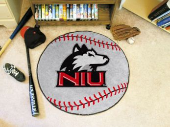Northern Illinois University Ball Shaped Area Rugs (Ball Shaped Area Rugs: Baseball)