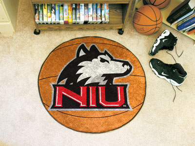 Northern Illinois University Ball Shaped Area Rugs (Ball Shaped Area Rugs: Basketball)