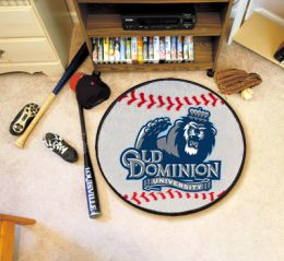 Old Dominion University Ball-Shaped Area Rugs (Ball Shaped Area Rugs: Baseball)