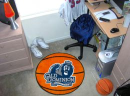 Old Dominion University Ball-Shaped Area Rugs (Ball Shaped Area Rugs: Basketball)