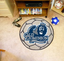 Old Dominion University Ball-Shaped Area Rugs (Ball Shaped Area Rugs: Soccer Ball)