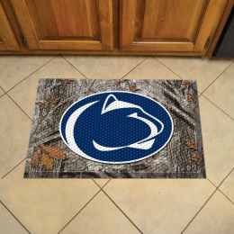 "Pennsylvania State University Scrapper Doormat - 19"" x 30"" (Field & Logo: Camo & Logo)"