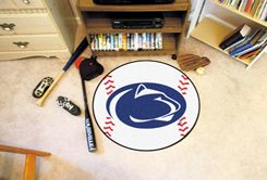 Pennsylvania State University Ball-Shaped Area Rugs (Ball Shaped Area Rugs: Baseball)