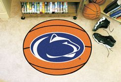 Pennsylvania State University Ball-Shaped Area Rugs (Ball Shaped Area Rugs: Basketball)