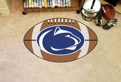 Pennsylvania State University Ball-Shaped Area Rugs (Ball Shaped Area Rugs: Football)