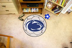 Pennsylvania State University Ball-Shaped Area Rugs (Ball Shaped Area Rugs: Soccer Ball)