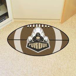 Purdue University Ball Shaped Area rugs (Ball Shaped Area Rugs: Football)