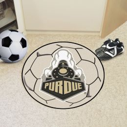 Purdue University Ball Shaped Area rugs (Ball Shaped Area Rugs: Soccer Ball)