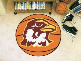 Quincy University Hawks Ball Shaped Area Rugs (Ball Shaped Area Rugs: Basketball)