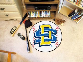 South Dakota State University Ball-sShaped Area Rugs (Ball Shaped Area Rugs: Baseball)