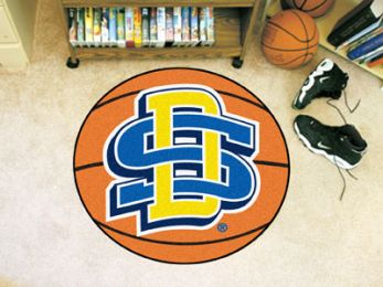 South Dakota State University Ball-sShaped Area Rugs (Ball Shaped Area Rugs: Basketball)