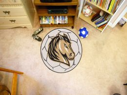 Southwest Minnesota State University Ball-Shaped Area Rugs (Ball Shaped Area Rugs: Soccer Ball)