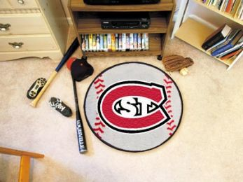 St.Cloud State University Ball-Shaped Area Rugs (Ball Shaped Area Rugs: Baseball)