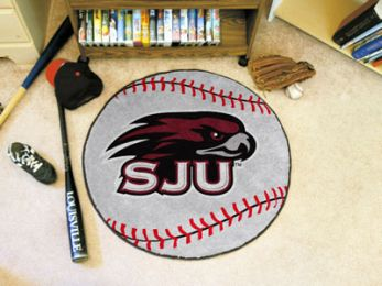 St. Joseph's University Ball-Shaped Area Rugs (Ball Shaped Area Rugs: Baseball)