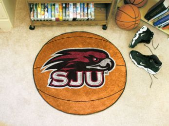 St. Joseph's University Ball-Shaped Area Rugs (Ball Shaped Area Rugs: Basketball)