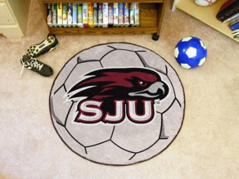 St. Joseph's University Ball-Shaped Area Rugs (Ball Shaped Area Rugs: Soccer Ball)