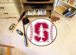 Stanford University Ball Shaped Area Rugs (Ball Shaped Area Rugs: Baseball)