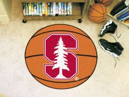 Stanford University Ball Shaped Area Rugs (Ball Shaped Area Rugs: Basketball)