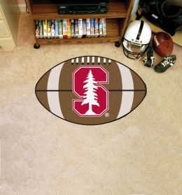Stanford University Ball Shaped Area Rugs (Ball Shaped Area Rugs: Football)