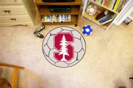 Stanford University Ball Shaped Area Rugs (Ball Shaped Area Rugs: Soccer Ball)