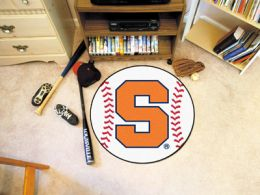 Syracuse University Ball Shaped Area Rugs (Ball Shaped Area Rugs: Baseball)