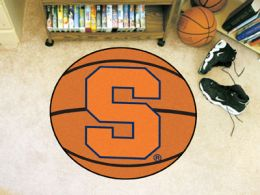 Syracuse University Ball Shaped Area Rugs (Ball Shaped Area Rugs: Basketball)