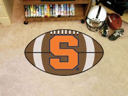 Syracuse University Ball Shaped Area Rugs (Ball Shaped Area Rugs: Football)