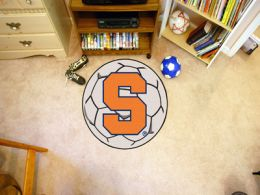 Syracuse University Ball Shaped Area Rugs (Ball Shaped Area Rugs: Soccer Ball)