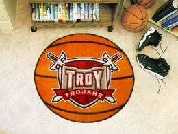 Troy University Ball Shaped Area Rugs (Ball Shaped Area Rugs: Basketball)