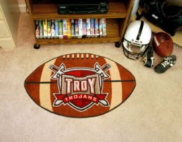 Troy University Ball Shaped Area Rugs (Ball Shaped Area Rugs: Football)