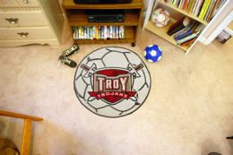 Troy University Ball Shaped Area Rugs (Ball Shaped Area Rugs: Soccer Ball)