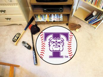 Truman State University Sports Ball Shaped Area Rugs (Ball Shaped Area Rugs: Baseball)