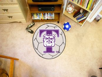 Truman State University Sports Ball Shaped Area Rugs (Ball Shaped Area Rugs: Soccer Ball)