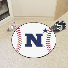 United States Naval Academy Ball Shaped Area rugs (Ball Shaped Area Rugs: Baseball)