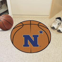 United States Naval Academy Ball Shaped Area rugs (Ball Shaped Area Rugs: Basketball)
